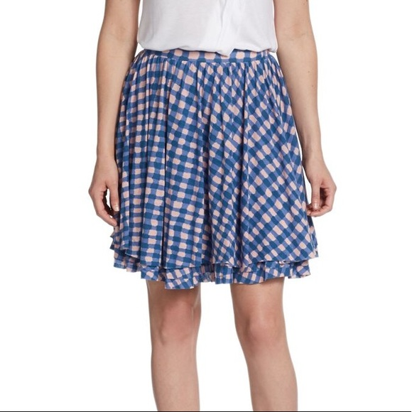 b13d6f834 Marc By Marc Jacobs Skirts | Checkered Jersey Skirt | Poshmark